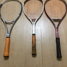 硬式、ソフトテニス、軟式ラケット
