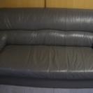 3人掛け ダークグレーのソファーです
