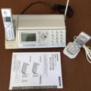 中古 SANYO コードレス・ファクシミリ電話機の画像