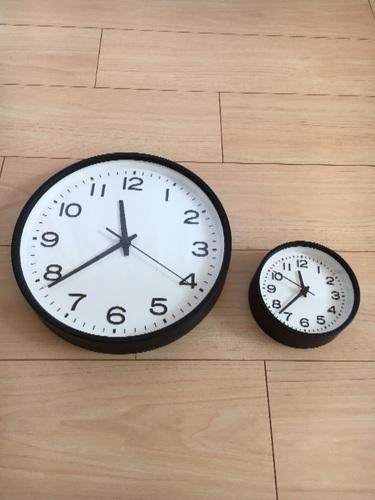 無印良品のかわいい時計①公園のミニ時計