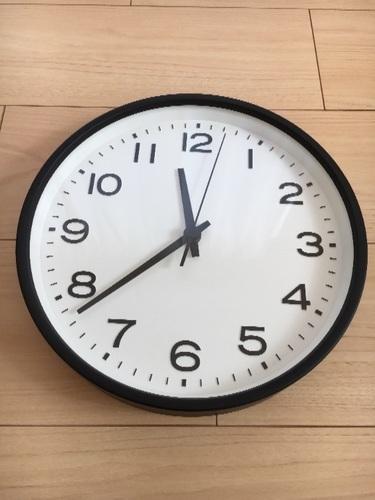 美品 無印 無印良品 時計 掛け時計 MUJIの画像