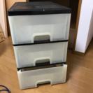 商談中 三段プラスチックボックス