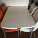 食卓テーブル&イス4脚セット