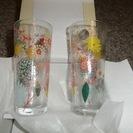 未使用ガラス製コップ(2個)