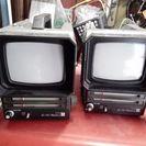 レトロ白黒テレビ ナショナル