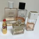 お得!香水セットと未使用の婚活リップ