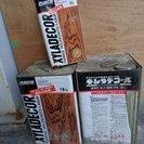 引取待ち中♪キシラデコール(屋外木部用塗料)16L入2缶と4L入...