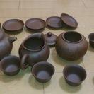 中国茶器セット  中国人からもらいました。