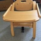 室内用机付き椅子