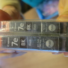 CANON純正 インクカートリッジ 7eブラック 2本 (新品未開封)