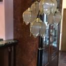 さらに値下げ❗️フロア スタンド ランプ  照明 花モチーフ 5灯