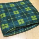 値下げ 美品新品 着る毛布 袖付き 大判 収納ポケット付き