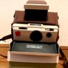 値下げ 【美品】SX-70人気の白×茶+速写ケース+NDフィルタ