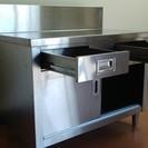 ステンレス食器棚 テーブル