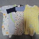 男児生後2か月~4か月頃のベビー服