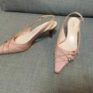 アンクライン/22.5㎝ヒール靴