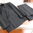 【交渉成立】美品◆礼服ブラックフォーマルスーツ背広 メンズLサイ...
