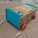 取引中◆ニチガン つみき 積み木 ◆車に入れて運べる ◆