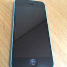 [値下げ]iPhone5c 16GB ブルー au