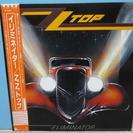 LPレコード ZZトップ 「イリミネーター」 国内盤・帯あり