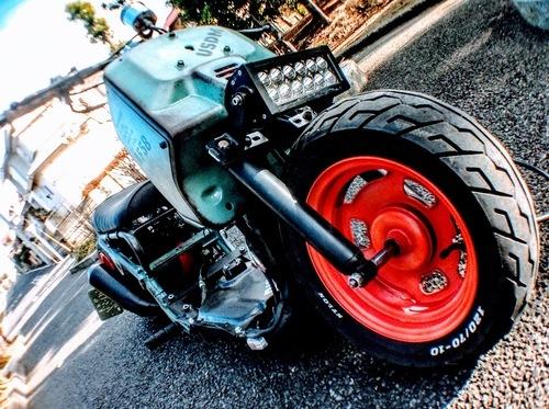 「 動画有」ズーマーロンホイ太足フルカスタム検索原付バイク50cc中古車体