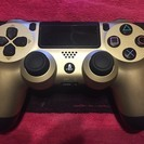 【新品同様】PS4 デュアルショック4 ゴールド
