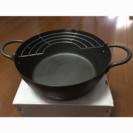 全ての熱源で使える!両手天ぷら鍋22㎝の画像