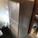 冷蔵庫 小さめだけど現役。