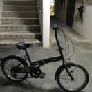 ギア付き折りたたみ自転車
