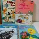 英語の絵本、ディズニー、セサミ等4冊セット