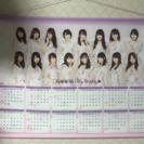 乃木坂46 タペストリーカレンダー...