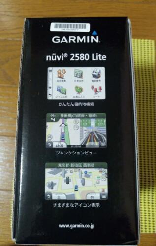 f405719f87 新品 カーナビ GARMIN 2580 Lite ポータブルナビゲーションシステム - 車のパーツ