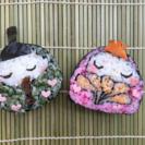 おひなさまの飾り巻き寿司を作りましょう!