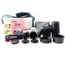 Canon レンズ2つ フィルムカメラ