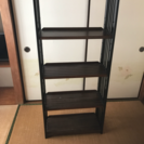 木製5段の棚