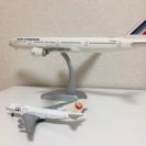 AIRFRANCEとJALの模型中古品 ドウラメールアメニティーセット