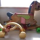 【お取引中】木馬、ボーネルンド(プルトーイぞうのサーカス)他 計3点