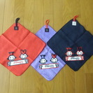 新品未使用💛 Chikaichi  ループ付きタオル 3枚セット