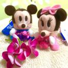 ミッキー&ミニー ぬいぐるみの画像