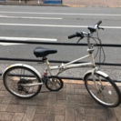 【現在商談中です】折り畳み自転車(6段変速、リヤサスペンション)