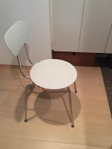 パイプ椅子 無印良品 スチールチェアー - 家具