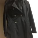 就活用 女性用リクルートコート 黒 ベルト付