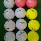 中古ゴルフボール 12個 ツアーステージ  V10 (#007)