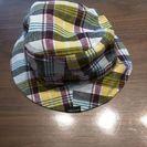 【値下げ!】コムサイズム帽子 リバーシブル 48Cmくらい