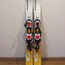 ショートスキー板(SALOMON snowblade)