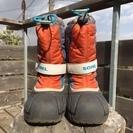 SOREL防寒ブーツ 子供用19センチ 氷点下でも大丈夫