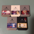 プレステ  メモリーカード  中古5個セット