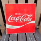 格安‼️ ヴィンテージ コカコーラ 鉄製 看板 サインボード イン...