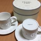 【値下❗️】Francfranc カップ&ソーサー2P★未使用