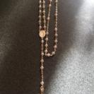 シルバー十字架ネックレス